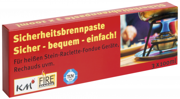 Fire Gel for Fondue 3 pcs à 80g